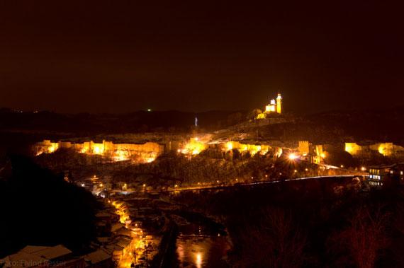 Гледката от хотела във В.Търново