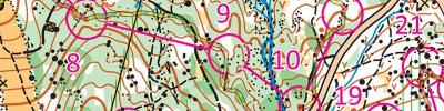 First orienteering session for 2021 (2021-01-01)